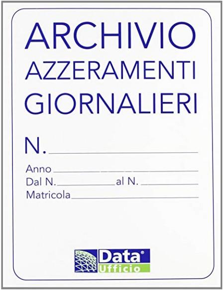 ARCHIVIO AZZERAMENTI GIORNALIERO 1280ZI
