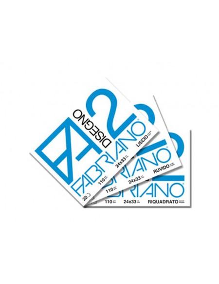 ALBUM FABRIANO 2 24X33 RIQUADRATO