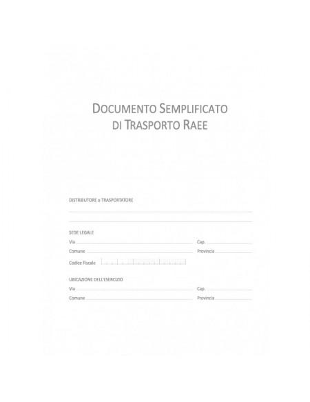 DU1615RAEE0 DOCUMENTO DI TRASPORTO