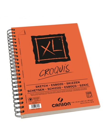CANSON QUADERNO SKETCH CROQUIS A5 90GR