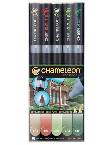 CHAMELEON PEN NATURE TONES 5