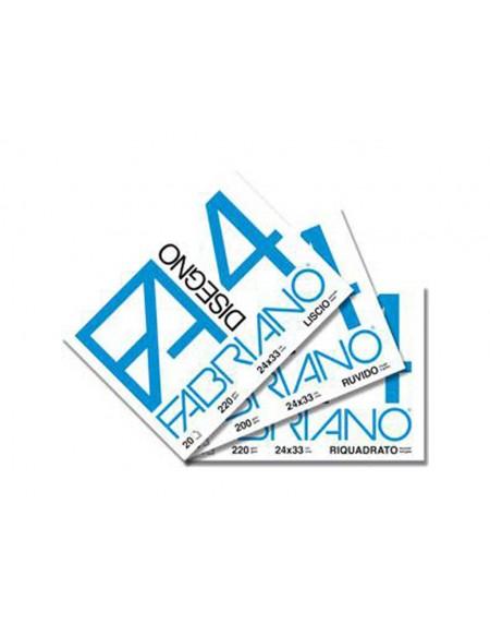 ALBUM FABRIANO 4 24X33 LISCIO