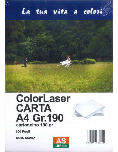 AS66241 CARTA A4 190 GR 200FG