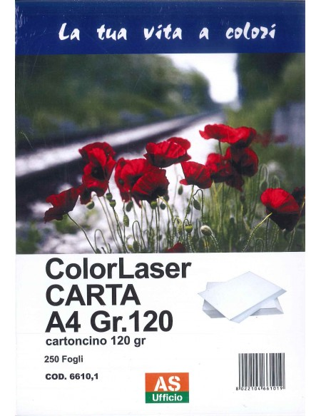 AS66101 CARTA A 4 120GR 250 FG