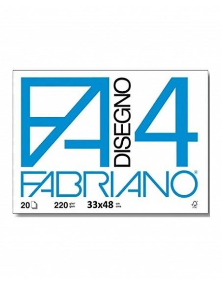 ALBUM FABRIANO 4 33X48 LISCIO SQUADRATO