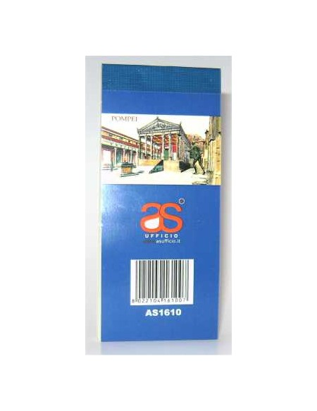 AS1610 BLOCCHI NUM 1-100 CARTA 80GR COL