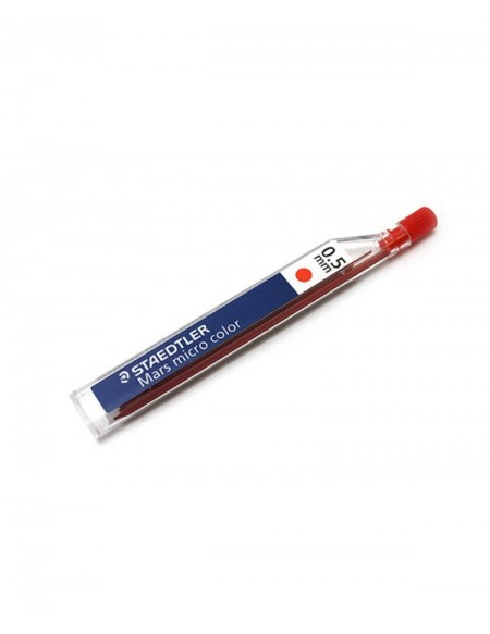 STAEDTLER MINE 0.5 COLOR RED