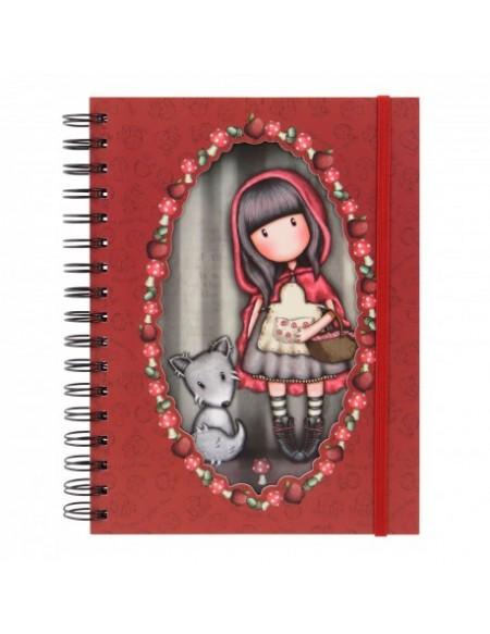 NOTEBOOK SPIRALATO LITTLE RED GORJUSS